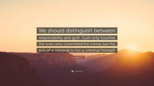 citat Bruckner vina mostenire