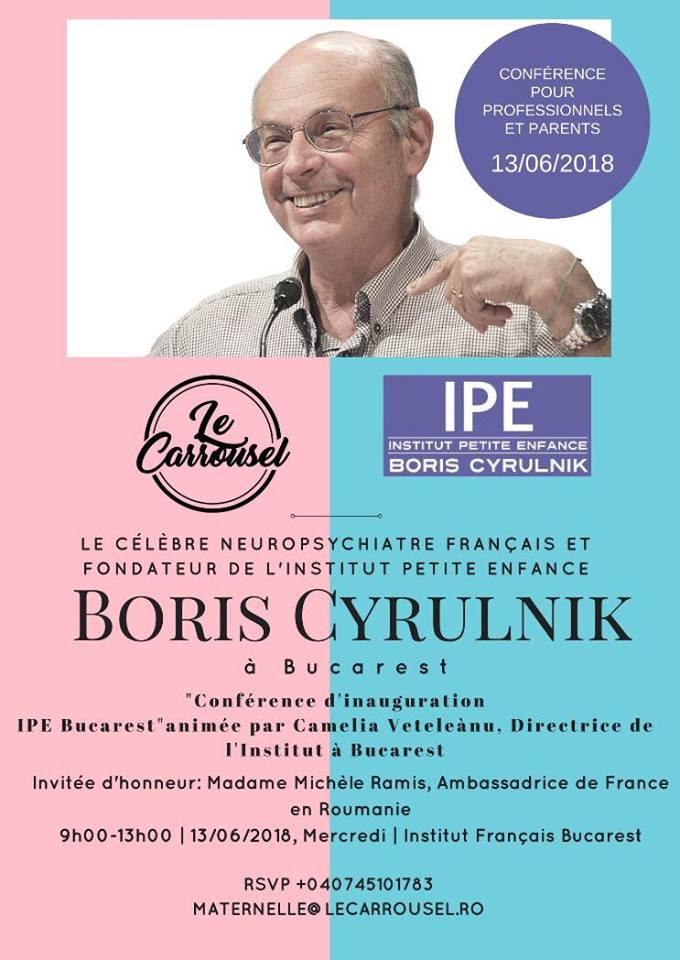 Boris Cyrulnik neuropsihiatru copii institutul Petite Enfance
