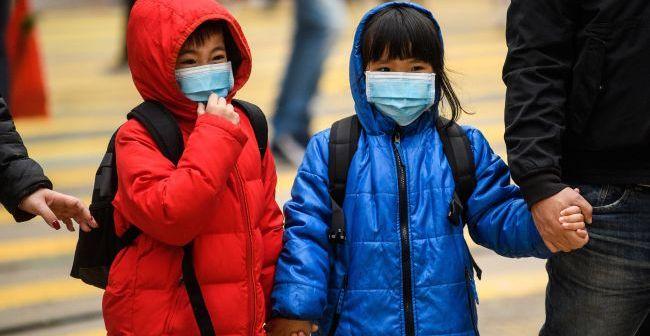 Coronavirus copiii